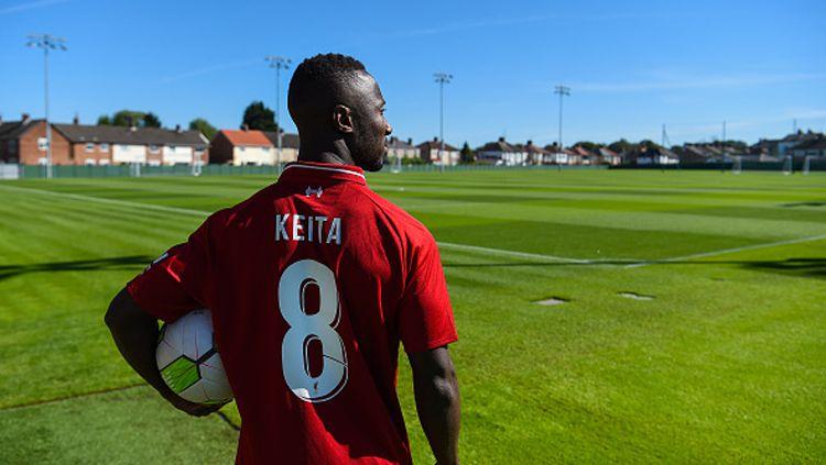 Naby Keita semakin membuktikan peran penting dirinya dalam permainan Liverpool ketika membawa klubnya pesta gol di laga Liga Champions kontra Genk. Copyright: © Getty Images