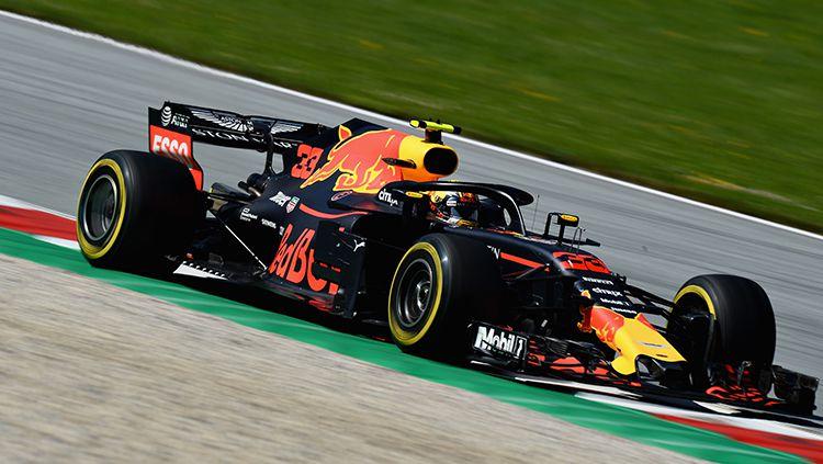 Max Verstappen menjadi juara di GP Austria. Copyright: © Getty Images