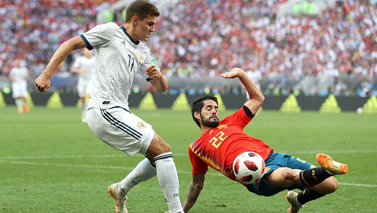 Ini gan 7 Fakta Menarik Spanyol vs Rusia di Piala Dunia 2018