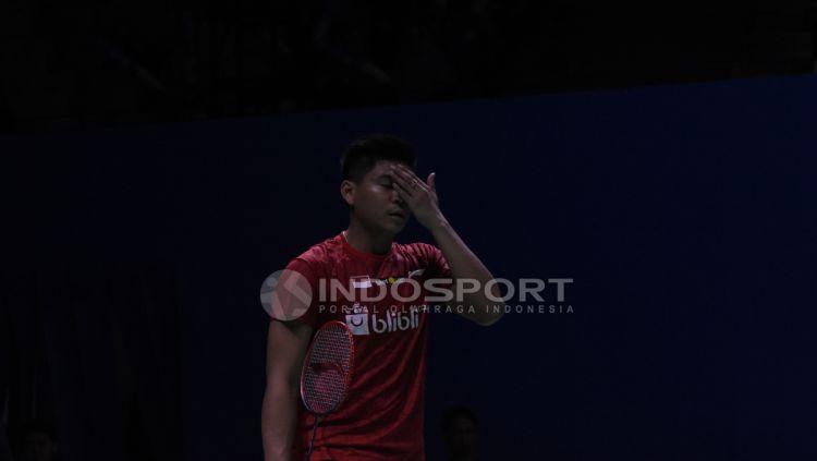 Praveen Jordan pada hari pertama Indonesia Open 2018. Copyright: © Herry Ibrahim/INDOSPORT