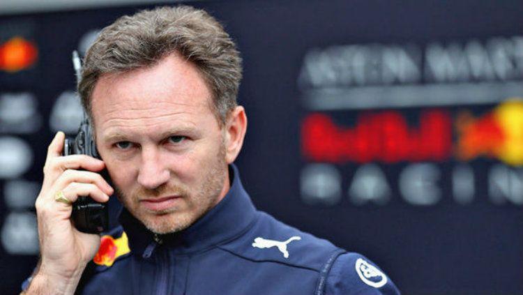 Christian Horner kepala Tim Red Bull Formula 1 Copyright: © daily express