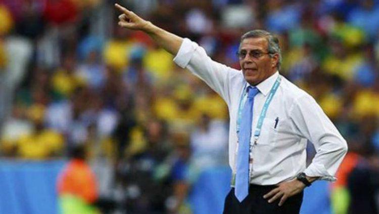 Oscar Tabarez, pelatih Timnas Uruguay Copyright: © Ahram Online