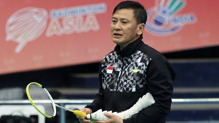 Hendri Saputra pelatih tunggal putra Indonesia Copyright: © badmintonindonesia