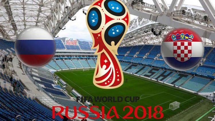 Ilustrasi Rusia vs Kroasia. Copyright: © tipsjuaralive.com
