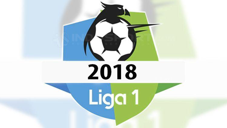 Ilustrasi Logo Liga 1 2018. Copyright: © INDOSPORT.com