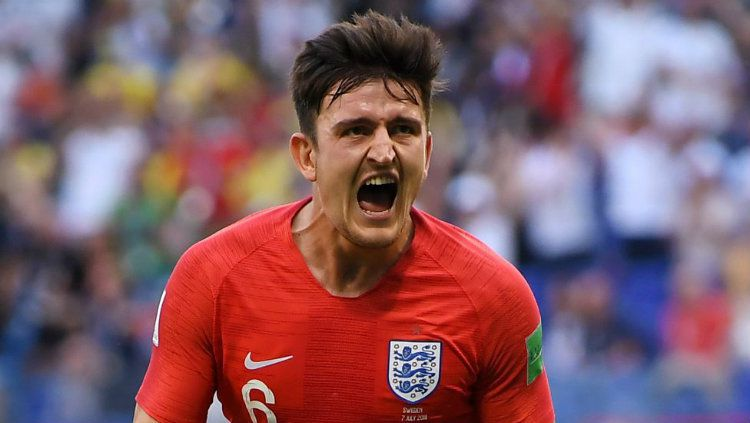Harry Maguire timnas Inggris Copyright: © BBC