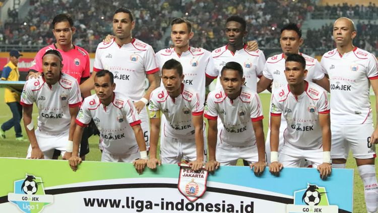 Skuat Persija Jakarta. Copyright: © Media Persija