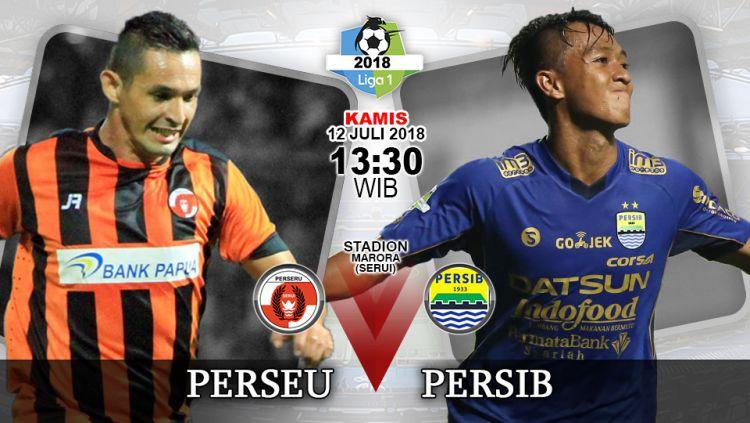 Perseru Serui vs Persib Bandung. Copyright: © INDOSPORT