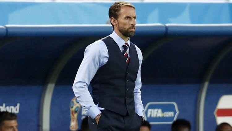 Gareth Southgate, pelatih Inggris. Copyright: © Daily Star