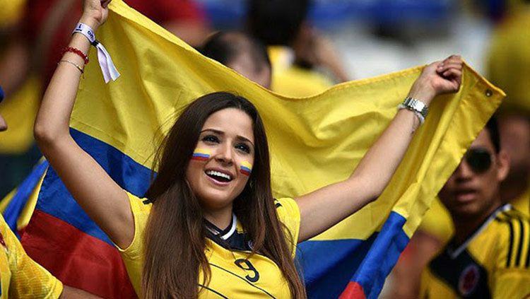 Suporter Cantik di Piala Dunia 2018. Copyright: © Getty Imagers/INDOSPORT