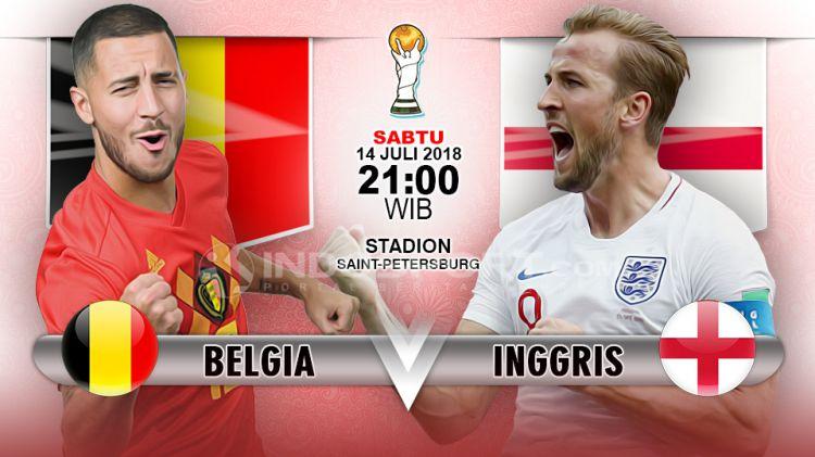 Belgia Vs Inggris Copyright Indosport Com
