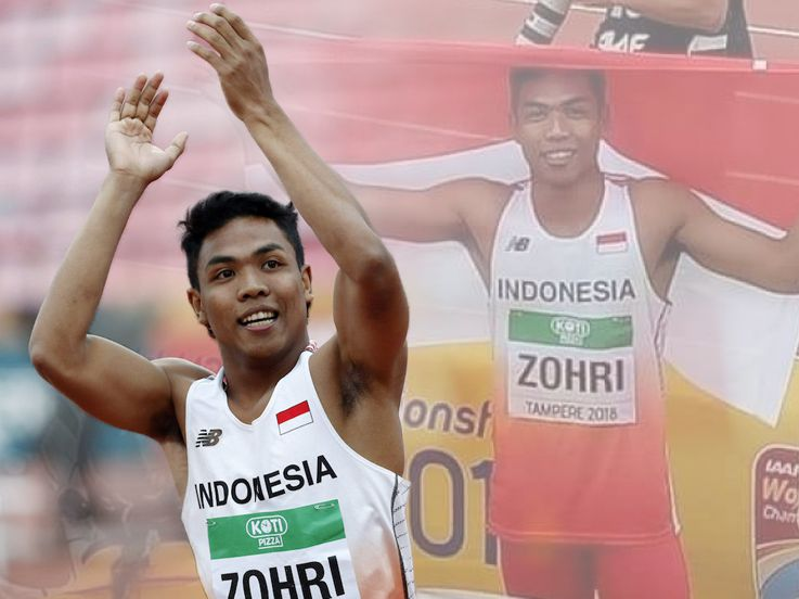 Terkait Bendera dan Kondisi Rumahnya, Begini Klarifikasi Zohri