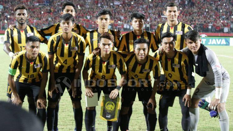 Timnas Malaysia U-19 Kembali Ditaklukan Tim Oman. Copyright: © Fitra Herdian/Indosport