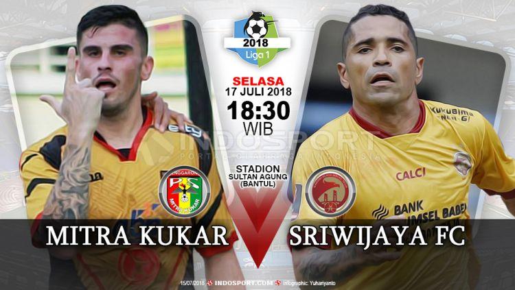 Mitra Kukar vs Sriwijaya Copyright: © Indosport.com