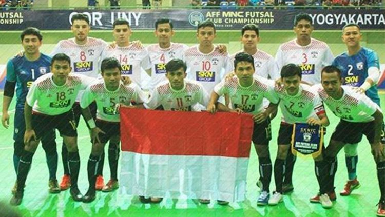 Klub futsal asal Jawa Tengah, SKN FC Kebumen, bakal dibela Filippo Inzaghi pada gelaran Pro Futsal League (PFL) 2020. Copyright: © instagram/sknfckebumen