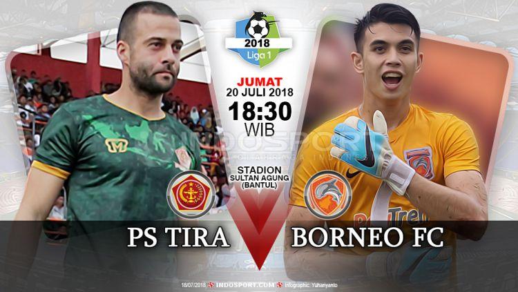 PS Tira vs Borneo FC. Copyright: © INDOSPORT