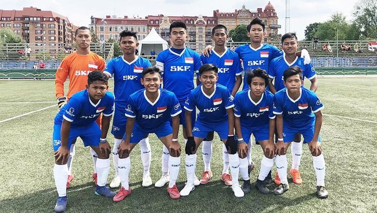 Skuat Timnas Indonesia U-15. Copyright: © gothiacup.se