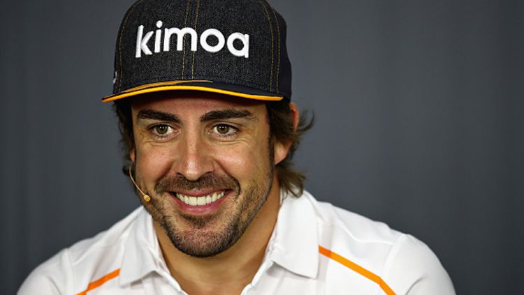 Fernando Alonso, mantan pembalap F1. Copyright: © Getty Images