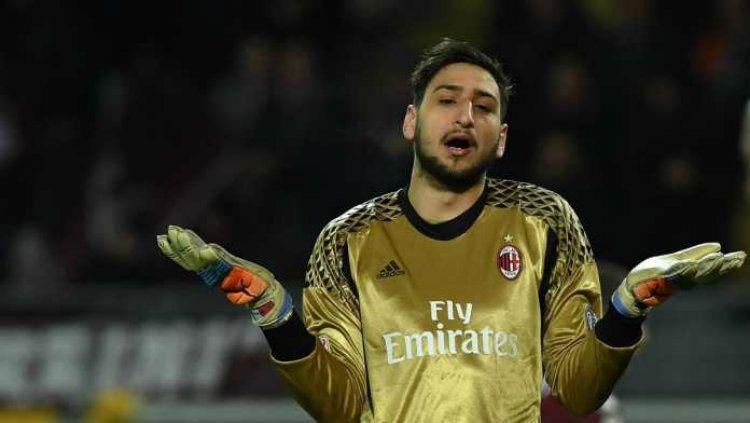 Gianluigi Donnarumma, kiper AC Milan. Copyright: © Gilabola.com