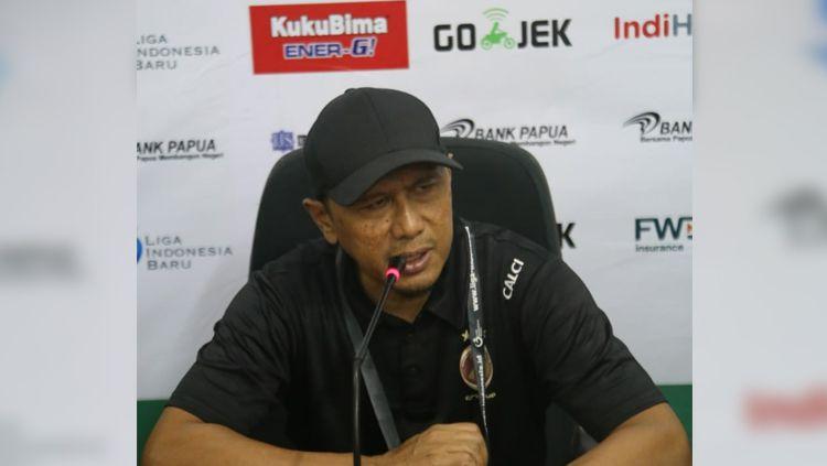 Pelatih Sriwijaya FC, Rahmad Darmawan. Copyright: © ISTIMEWA