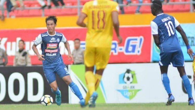 Sriwijaya FC vs Arema FC. Copyright: © Instagram/@aremafcofficial