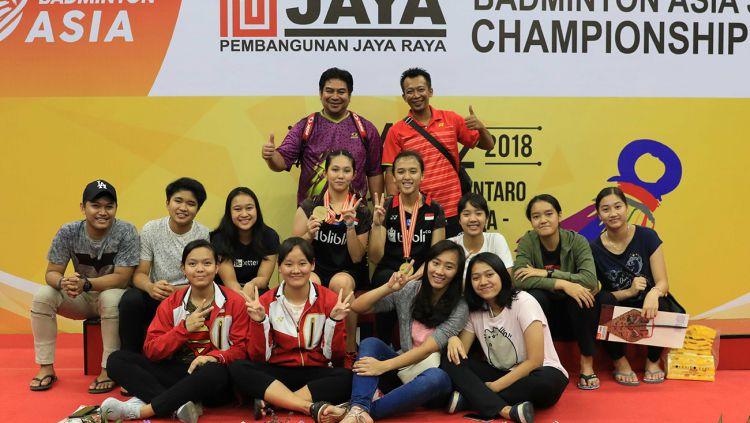 Indonesia kembali berlaga di ajang Badminton Asia Junior Championships untuk tahun 2019 ini di China. Copyright: © Humas PBSI