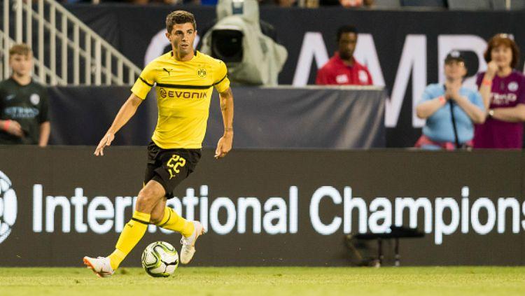 Christian Pulisic, pemain Borussia Dortmund. Copyright: © Getty Images