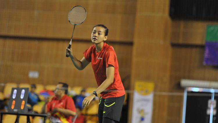 Tim Bulutangkis Indonesia di ajang Asean School Games 2018. Copyright: © asg2018.bsukanspmoe.com