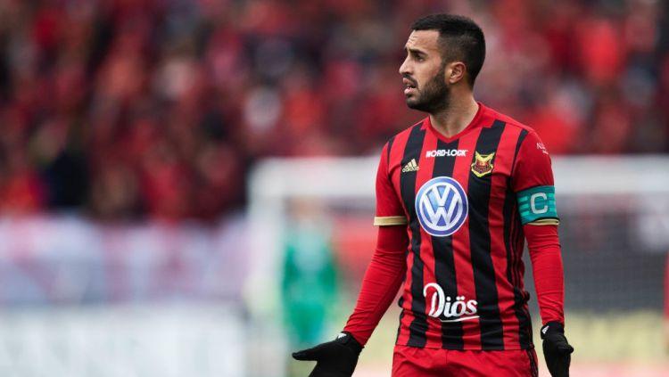 Brwa Nouri, pemain sepak bola Ostersunds FK. Copyright: © Getty Images