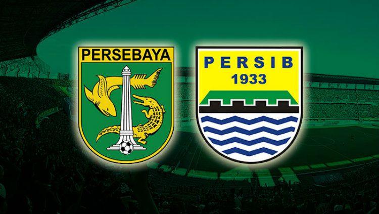 Ilustrasi Persebaya Surabaya vs Persib Bandung. Copyright: © emosijiwaku.com