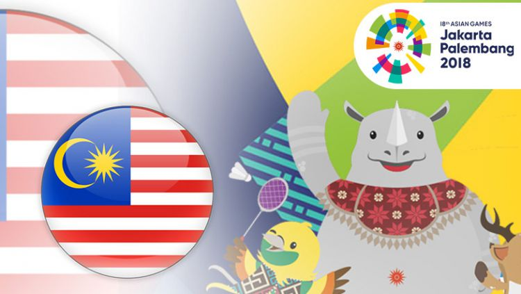 Malaysia Asian Games 2018 Copyright: © Indosport.com