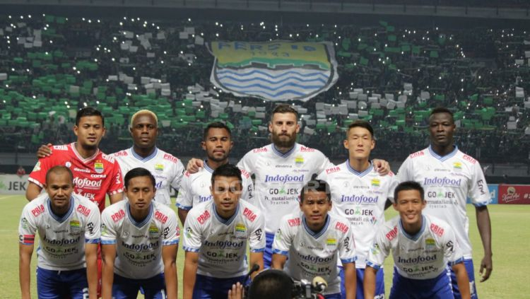 Skuat Persib Bandung Copyright: © Fitra Herdian/Indosport.com