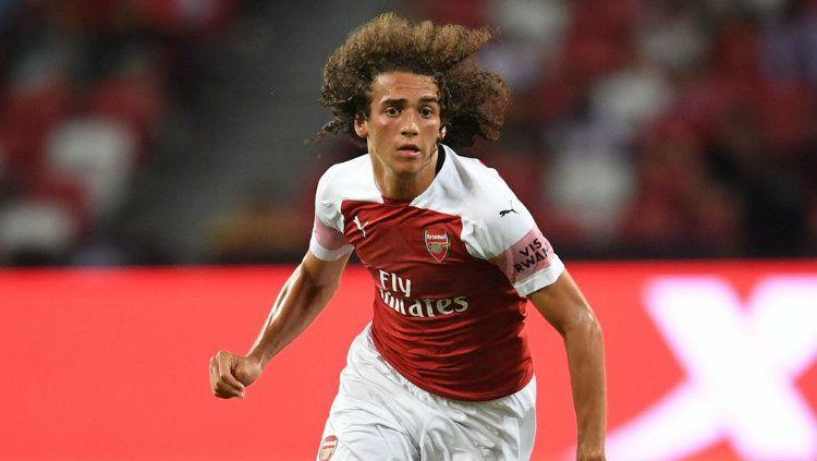 Indosport - Matteo Guendouzi, pemain Arsenal yang dipinjamkan ke Hertha Berlin musim ini.