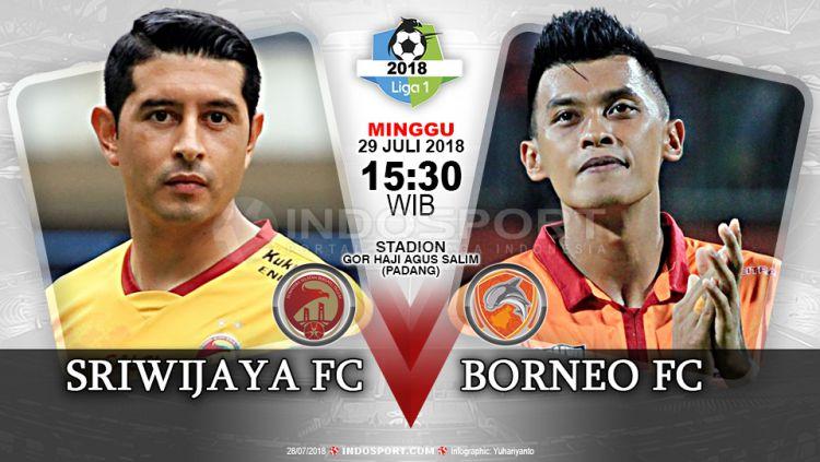 Sriwijaya FC vs Borneo FC (Prediksi) Copyright: © Indosport.com