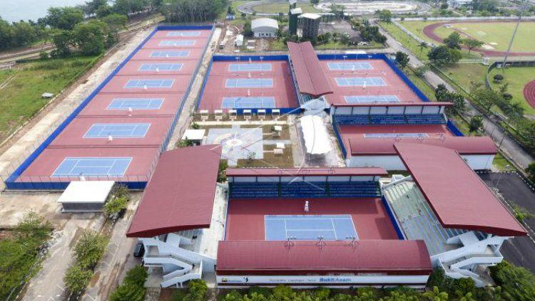 Lapangan Tenis Bukit Asam Copyright: © Antara