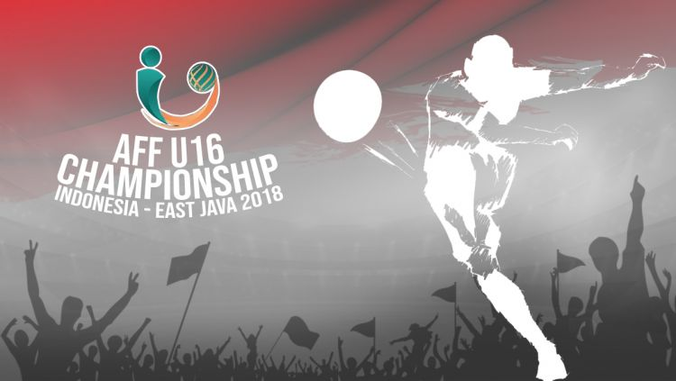 Logo Piala AFF U16 2018. Copyright: © INDOSPORT