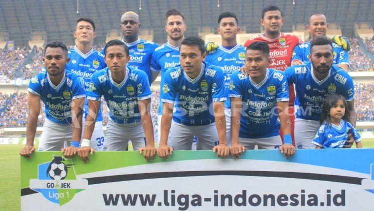 Persib Bandung vs Sriwijaya FC Copyright: © INDOSPORT/Arif Rahman