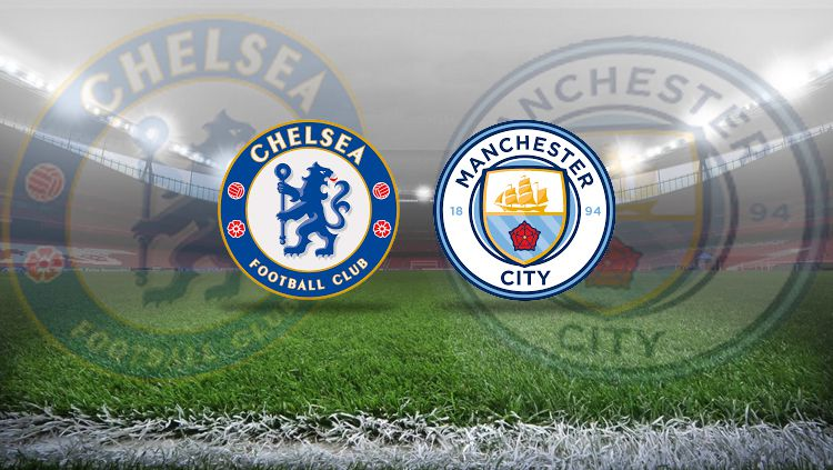 Chelsea vs Manchester City. Copyright: © INDOSPORT