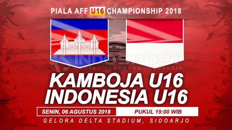 Kamboja vs Indonesia U16 Copyright: © Indosport.com