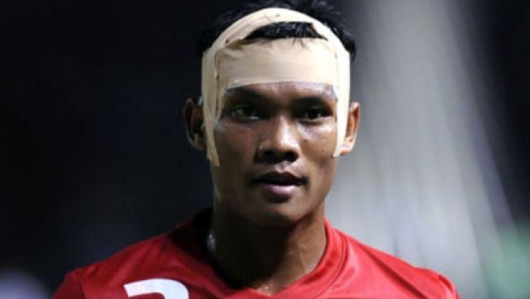 Mantan pemain Timnas Indonesia, Muhammad Nasuha saat di Piala AFF 2010. Copyright: © Tempo