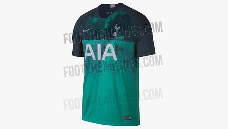 Jersey anyar Tottenham Hotspur musim 2019 Copyright: © Istimewa