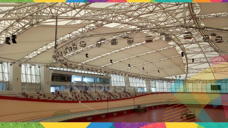Velodrome Rawamangun yang telah digunakan pada Asian Games dan Asian Paragames 2018. Copyright: © Annisa Hardjanti/INDOSPORT