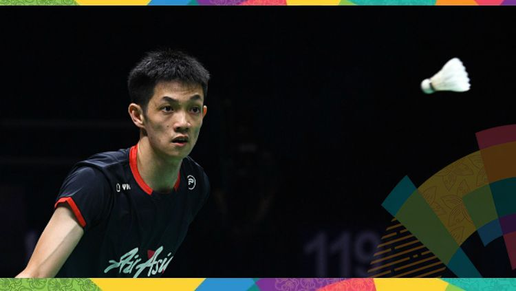Daren Liew akan menggantikan Lee Chong Wei di Asian Games 2018. Copyright: © JOHANNES EISELE/AFP/Getty Images