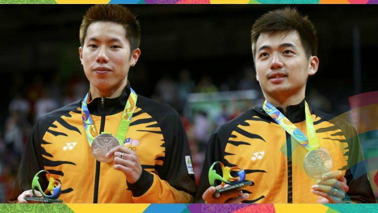 Pasangan Ganda Putra Malaysia, Goh V Shem/Tan Wee Kiong, yang juga rival tengil Kevin/Marcus secara mengejutkan tersingkir dari wakil Rusia di putaran pertama Hong Kong Open 2019. Copyright: © Reuters