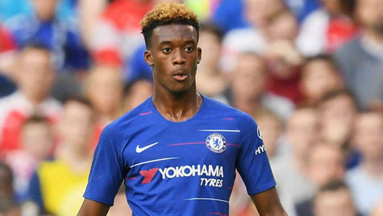 Pemain muda Chelsea Callum Hudson-Odoi Copyright: © Express UK