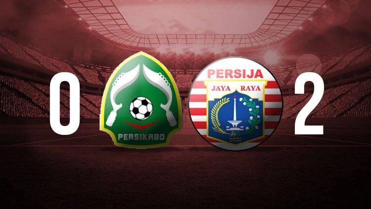 Babak pertama Persikabo Bogor vs Persija Jakarta. Copyright: © INDOSPORT
