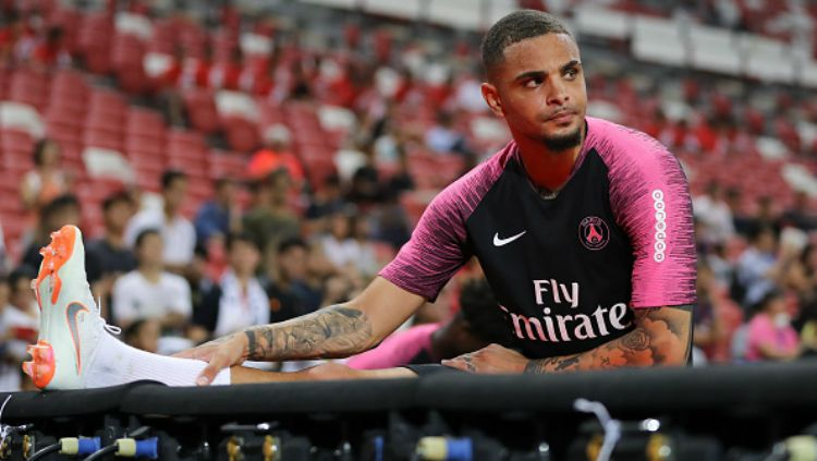 Layvin Kurzawa, pemain PSG. Copyright: © Getty Images