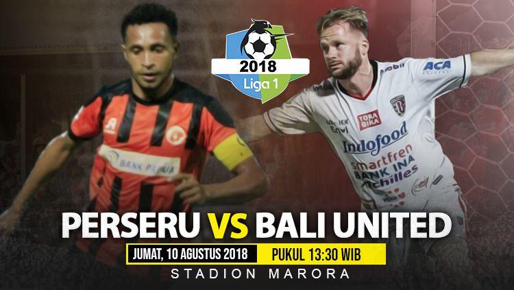Perseru Serui vs Bali United. Copyright: © INDOSPORT