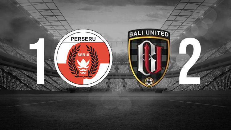 Hasil pertandingan Perseru Serui vs Bali United. Copyright: © INDOSPORT