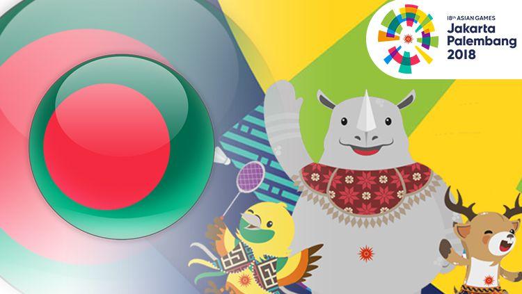 Banglades Asian Games 2018. Copyright: © INDOSPORT